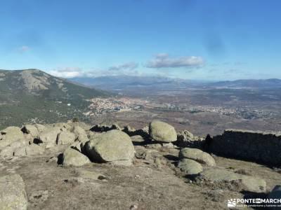 Machotas,Pico El Fraile, Tres Ermitaños; grupos de montaña valle del jerte fotos nacimiento de ebr